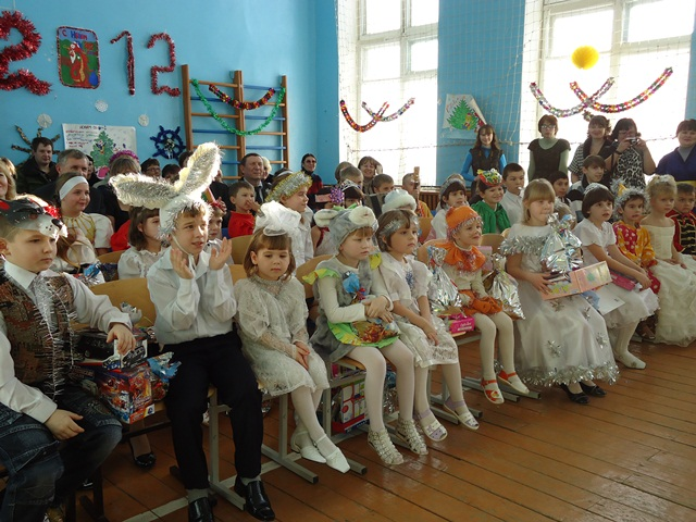Поздравление детского приюта